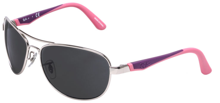 PRESCRIPOTION-GLASSES-MODEL-RAY-BAN-RJ9534S-SILVER-PINK-PURPLE-45