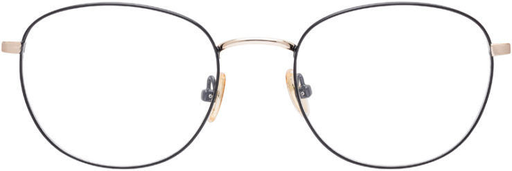 PRESCRIPTION-GLASSES-MODEL-ART-353-BLACK-GOLD-FRONT