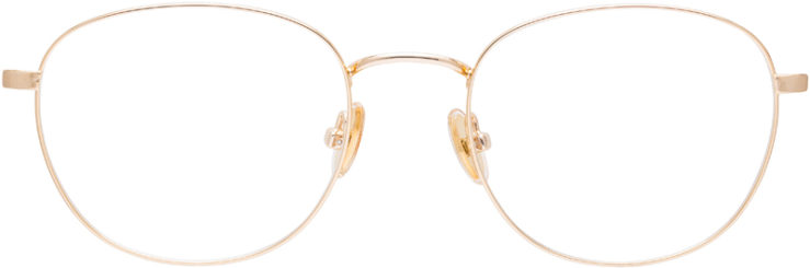 PRESCRIPTION-GLASSES-MODEL-ART-353-GOLD-FRONT