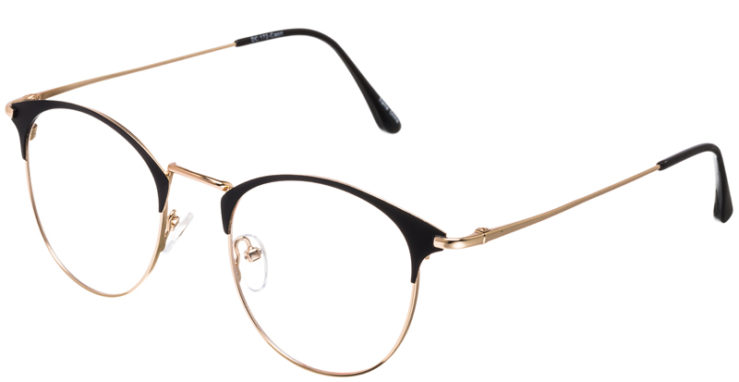 PRESCRIPTION-GLASSES-MODEL-DC-172-BLACK-GOLD-45