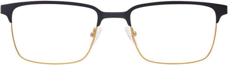PRESCRIPTION-GLASSES-MODEL-GR-813-BLACK-GOLD-FRONT