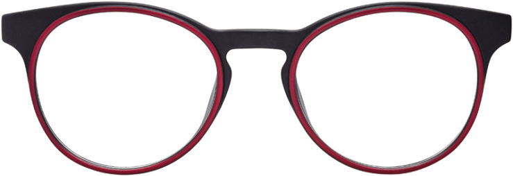 PRESCRIPTION-GLASSES-MODEL-LOL-BLACK-RED-FRONT