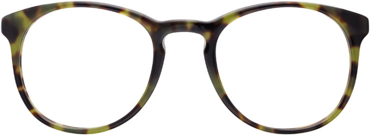PRESCRIPTION-GLASSES-MODEL-PRADA-JOURNAL-VPR19S-F-GREEN-TOROTISE-FRONT