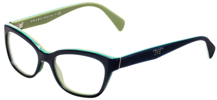 PRESCRIPTION-GLASSES-MODEL-PRADA-VPR-20P-BLUE-GREEN-45