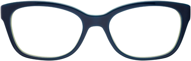 PRESCRIPTION-GLASSES-MODEL-PRADA-VPR-20P-BLUE-GREEN-FRONT