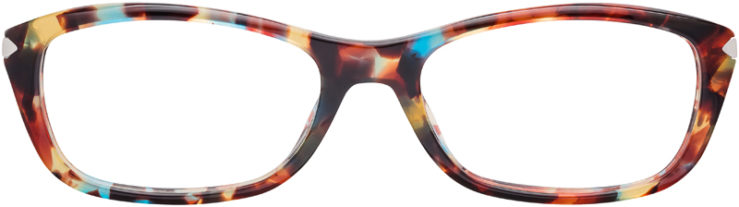 PRESCRIPTION-GLASSES-MODEL-PRADA-VPR04P-BLUE-TORTOISE-FRONT