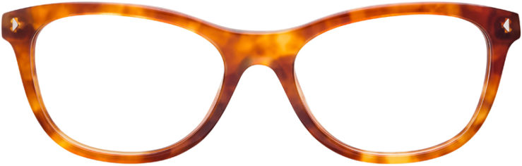 PRESCRIPTION-GLASSES-MODEL-PRADA-VPR05R-LIGHT-BROWN-TORTOISE-FRONT