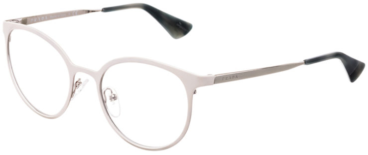 PRESCRIPTION-GLASSES-MODEL-PRADA-VPR53T-MATTE-BEIGE-SILVER-45