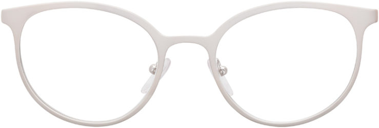 PRESCRIPTION-GLASSES-MODEL-PRADA-VPR53T-MATTE-BEIGE-SILVER-FRONT