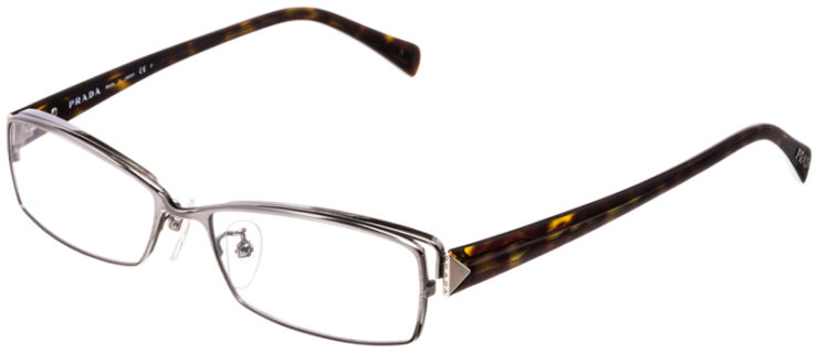 PRESCRIPTION-GLASSES-MODEL-PRADA-VPR66N-SILVER-TORTOISE-45