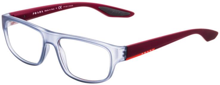 PRESCRIPTION-GLASSES-MODEL-PRADA-VPS03G-MATTE-GREY-BURGUNDY-45
