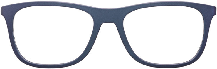 PRESCRIPTION-GLASSES-MODEL-PRADA-VPS04F-MATTE-GREY-BURGUNDY-FRONT