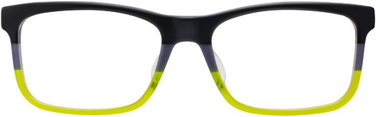PRESCRIPTION-GLASSES-MODEL-PRADA-VPS05F-F-MATTE-BLACK-GREY-GREEN-FRONT