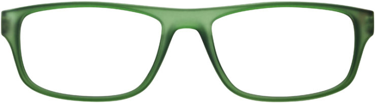PRESCRIPTION-GLASSES-MODEL-PRADA-VPS06G-MATTE-GREEN-BROWN-FRONT
