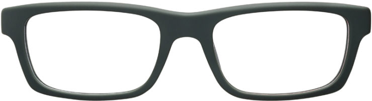 PRESCRIPTION-GLASSES-MODEL-PRADA-VPS07C-MATTE-GREEN-OLIVE-FRONT