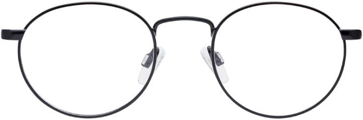 PRESCRIPTION-GLASSES-MODEL-PT-96-BLACK-FRONT