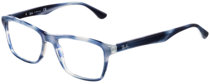 PRESCRIPTION-GLASSES-MODEL-RAY-BAN-RB5279-BLUE-TORTOISE-45