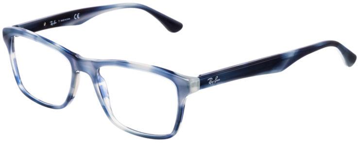 PRESCRIPTION-GLASSES-MODEL-RAY-BAN-RB5279-BLUE-TORTOISE-45
