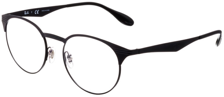 PRESCRIPTION-GLASSES-MODEL-RAY-BAN-RB6406-MATTE-BLACK-BLACK-45