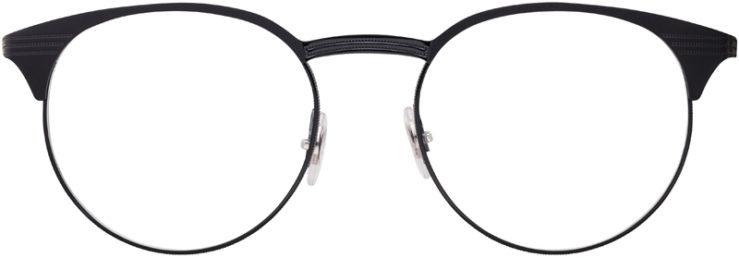PRESCRIPTION-GLASSES-MODEL-RAY-BAN-RB6406-MATTE-BLACK-BLACK-FRONT