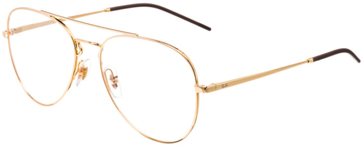 PRESCRIPTION-GLASSES-MODEL-RAY-BAN-RB6413-GOLD-45