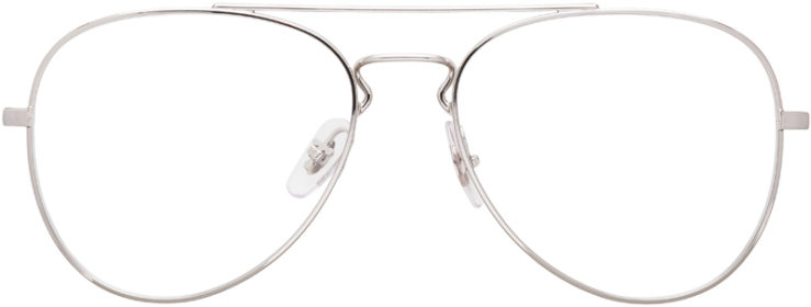 PRESCRIPTION-GLASSES-MODEL-RAY-BAN-RB6413-SILVER-FRONT