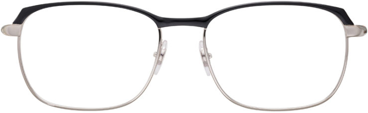 PRESCRIPTION-GLASSES-MODEL-RAY-BAN-RB6420-BLACK-SILVER-FRONT