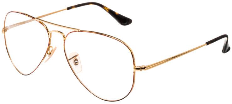 PRESCRIPTION-GLASSES-MODEL-RAY-BAN-RB6489-TORTOISE-GOLD-45