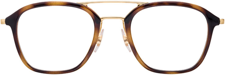 PRESCRIPTION-GLASSES-MODEL-RAY-BAN-RB7098-TORTOISE-FRONT