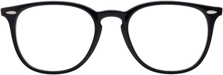 PRESCRIPTION-GLASSES-MODEL-RAY-BAN-RB7159-BLACK-FRONT