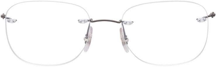 PRESCRIPTION-GLASSES-MODEL-RAY-BAN-RB8748-MATTE-GREY-FRONT