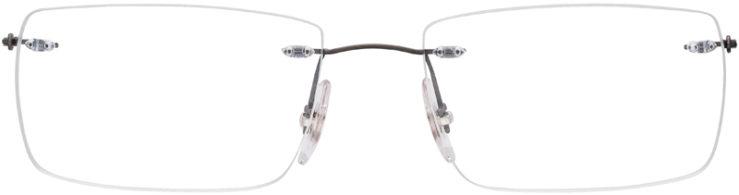 PRESCRIPTION-GLASSES-MODEL-RAY-BAN-RB8755-MATTE-GREY-FRONT