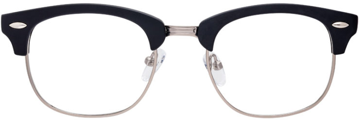 PRESCRIPTION-GLASSES-MODEL-RILEY-BLACK-GUNMETAL-FRONT