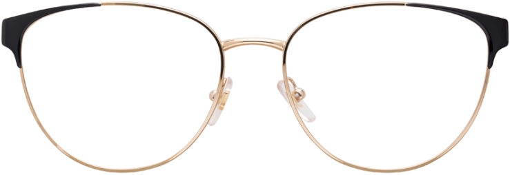 PRESCRIPTION-GLASSES-MODEL-VERSACE-1238-BLACK-GOLD-FRONT