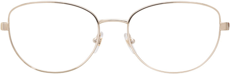 PRESCRIPTION-GLASSES-MODEL-VERSACE-1246-B-GOLD-BLACK-FRONT