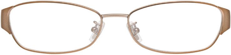 PRESCRIPTION-GLASSES-MODEL-COACH-HC5018-ROSE-SAND-FRONT