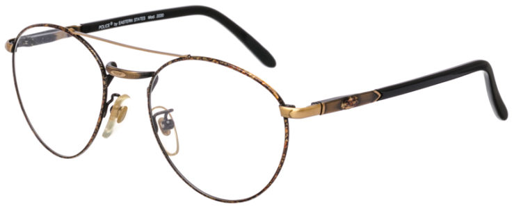 PRESCRIPTION-GLASSES-MODEL-POLICE-2000-ANT.-GOLD-45