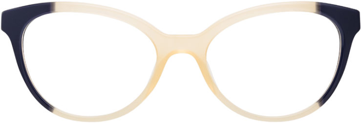 PRESCRIPTION-GLASSES-MODEL-PRADA-JOURNAL-VPR05U-YELLOW-BLACK.TORTOISE-FRONT