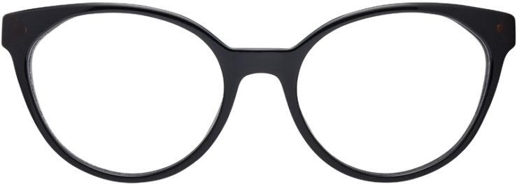 PRESCRIPTION-GLASSES-MODEL-PRADA-VPR01T-BLACK.TORTOISE-FRONT