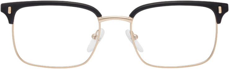 PRESCRIPTION-GLASSES-MODEL-PRADA-VPR55V-MATTE-BLACK.MATTE-SILVER-FRONT