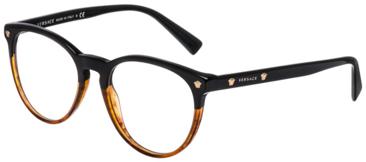 PRESCRIPTION-GLASSES-MODEL-VERSACE-3257-BLACK-BROWN-45
