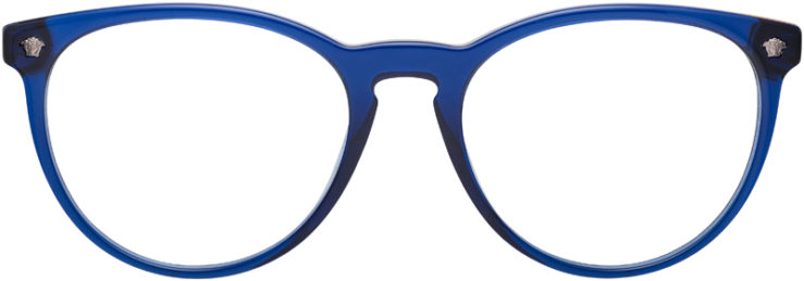PRESCRIPTION-GLASSES-MODEL-VERSACE-3257-BLUE-FRONT