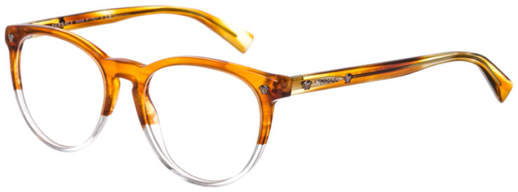PRESCRIPTION-GLASSES-MODEL-VERSACE-3257-LIGHT-BROWN-CLEAR-45
