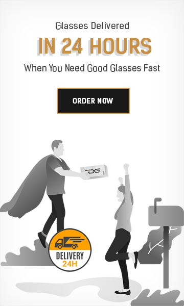 Same day prescription glasses production and delivery