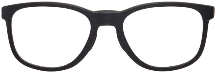 PRESCRIPTION-GLASSES-MODELOAKLEY-CLOVERLEAF-MNP-SATIN-BLACK-FRONT