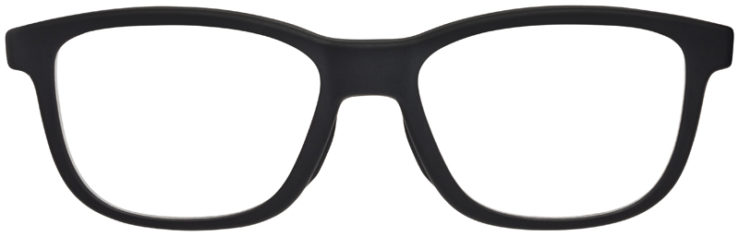 PRESCRIPTION-GLASSES-MODELOAKLEY-CROSSSTEP-SATIN-BLACK-FRONT