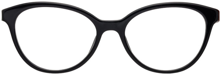 PRESCRIPTION-GLASSES-MODELPRADA-JOURNAL-VPR05U-BLACK-FRONT