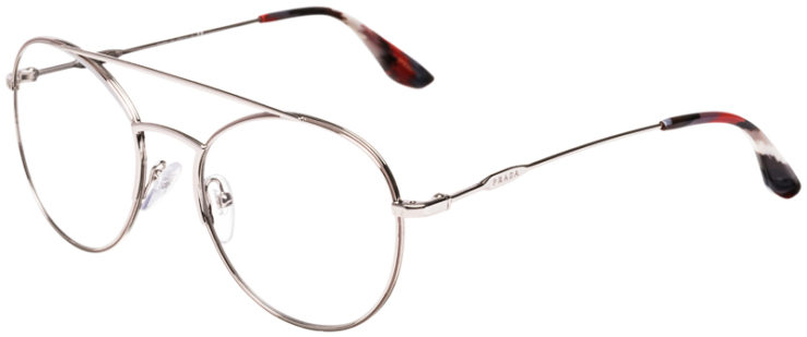 PRESCRIPTION-GLASSES-MODELPRADA-JOURNAL-VPR55U-SILVER-45