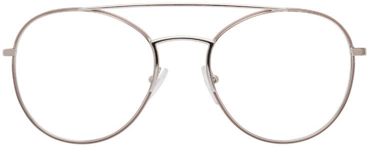 PRESCRIPTION-GLASSES-MODELPRADA-JOURNAL-VPR55U-SILVER-FRONT