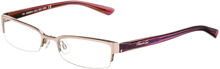 PRESCRIPTION-GLASSES-MODEL-KENNETH COLE KC130-SILVER BROWN-45
